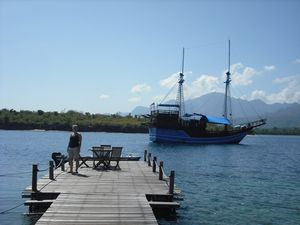 The Jetty and Menjangan Bay